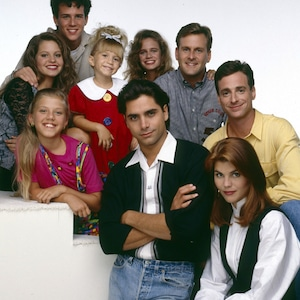 Full House Cast, John Stamos, Jodie Sweetin, Bob Saget, Lori Loughlin, Dave Coulie